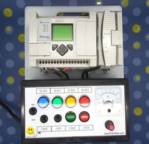 Allen Bradley Plc Training Analog 1100 Trainer 1763 l16bwa With Lessons
