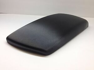 Bmw X3 2004 2010 Armrest center Console Cover black Brushed Steel