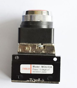 New 1 8 Mov 03a Thread Push Button Switch Pneumatic Reversing Valve