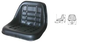 Cobo Gt 50 Seat With Adjustable Guide For Tractor Fiat landini same Etc