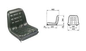 Cobo Gt 60 Seat With Adjustable Guide For Tractor Fiat landini same Etc
