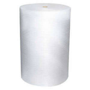 Grainger Approved Plastic Foam Roll non perforated 1250 Ft L 36dy88 White