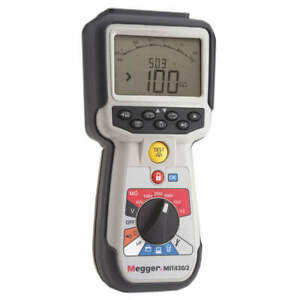 Megger Battery Operated Megohmmeter 1000vdc Mit430 2