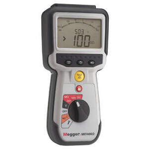 Megger Battery Operated Megohmmeter 1000vdc Mit400 2