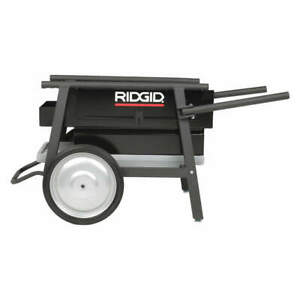 Ridgid Steel Frame And Cabinet Threaf Machine Stand cart 400 Lb 32 h 92467
