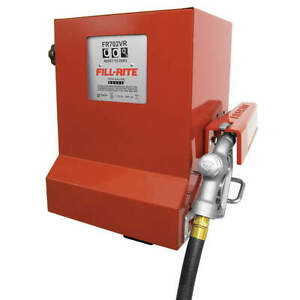 Fill rite Fuel Transfer Pump 1 3 Hp 17 Gpm Fr702vr
