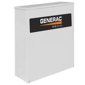 Generac Automatic Transfer Switch 240v 24 In H Rtsn100j3 Gray