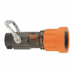 Elkhart Brass Fire Hose Nozzle 1 1 2 In orange 4000 12
