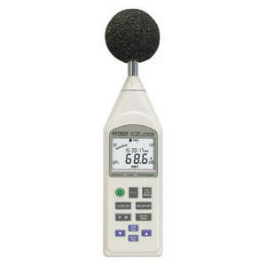 Extech Sound Level Meter integrating 30 130db 407780a
