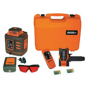 Johnson Rotary Laser Level int ext red 2000 Ft 40 6532
