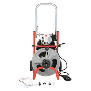 Ridgid 27008 Drain Cleaning Machine 165 Rpm 75 Ft
