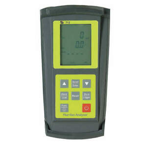Test Products Intl Combustion Flue Gas Analyzer 712