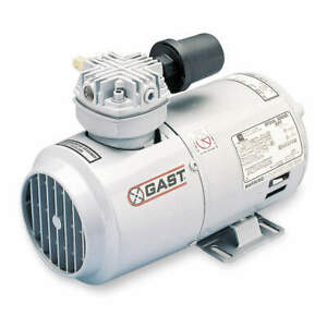 Gast Piston Air Compressor vacuum Pump 1 4hp 2hah 24 m200x