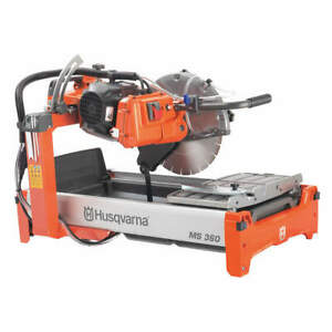Husqvarna Steel Masonry Saw 1 5 Hp wet 132 Lb 115v 967285201