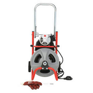 Ridgid Drain Cleaning Machine 1 1 2 To 4 52363