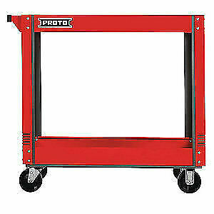 Proto Steel Tool Utility Cart red gray 38 1 2 H J541000 sg Red