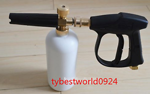 New 1set M22 1 5 Fitting Professional High Pressure Gun Snow Foam Washer Female