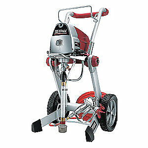 Wagner Airless Paint Sprayer 3 4 Hp 0 34 Gpm 0516013a