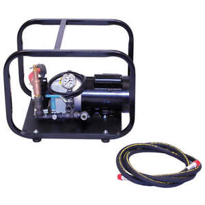 Wheeler rex Test Pump Electric twin Piston 1hp 35100