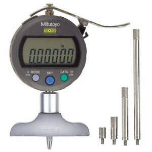 Mitutoyo Electronic Digital Depth Gage 0 To 8 In 547 217s