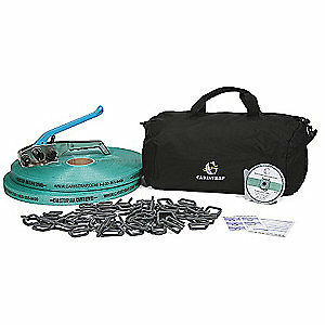 Caristrap Strapping Kit polyester 525 Ft L 105wosk Green