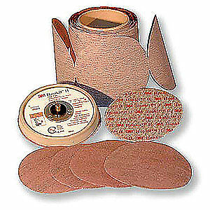 3m Psa Sanding Disc film 6in 60micrpk500 60440107328 Red