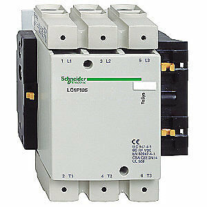 Schneider Electric Iec Magnetic Contactor 120vac 185a 3p Lc1f185g6
