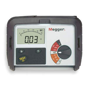 Megger Battery Operated Megohmmeter 1000vdc Mit330 en