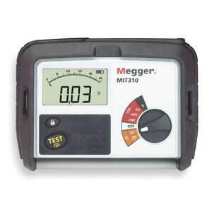 Megger Battery Operated Megohmmeter 1000vdc Mit310