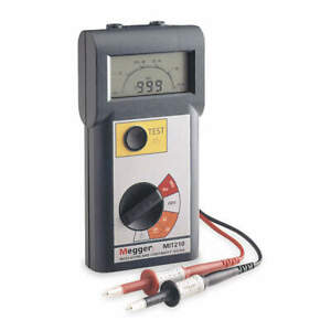 Megger Battery Operated Megohmmeter 1000vdc Mit210