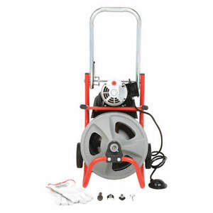 Ridgid Drain Cleaning Machine 1 2inx75ft Cable 26998