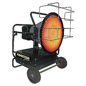 Master Oil Fired Radiant Heater 125k Mh 125 ofr a