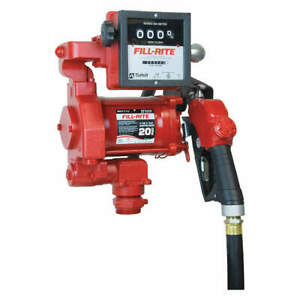 Fill rite Fuel Transfer Pump 1 3 Hp 20 Gpm Fr711va