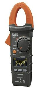 New Klein Tools cl330 400a Ac Auto ranging Digital Clamp Meter W carrying Case