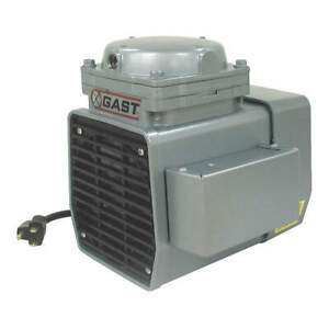 Gast Compressor vacuum Pump 1 3 Hp 50 60 Hz Doa p707 fb