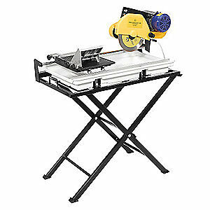 Qep Dual Speed Tile Saw wet Cut 10 Blade 60020sq