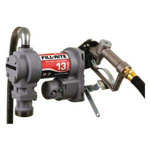 Fill rite Fuel Transfer Pump 1 4 Hp 13 Gpm Sd602g