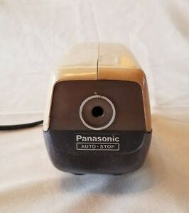 vintage Panasonic Model Kp 88a Electric Pencil Sharpener Tested And Works Great