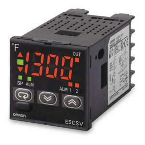 Omron 1 16 Din Temp Controller on off Or Pid E5csvr1tf Ac100 240