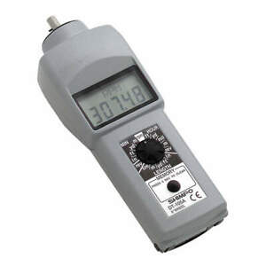 Shimpo Tachometer 0 10 To 25 000 Rpm Dt 105a
