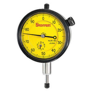 Dial Indicator 0 To 10mm 0 100 25 481j