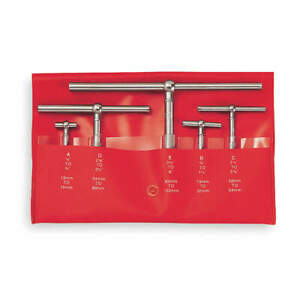 Starrett Telescoping Gage Set 5 Pc 2 625 In D S229gz
