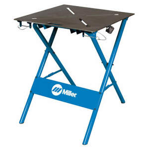 Miller Electric Arcstation Workbench work Surface 29x29 300837 Blue