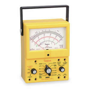 Simpson Electric Analog Multimeter 1000v 10a 20m Ohms 260 8xi