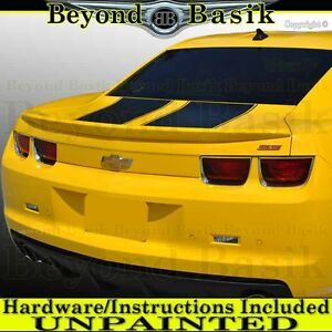 2010 2011 2012 2013 Chevy Camaro Factory Style Spoiler Flush Wing Unpainted