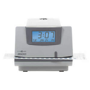 Pyramid Time Clock digital lcd 3500