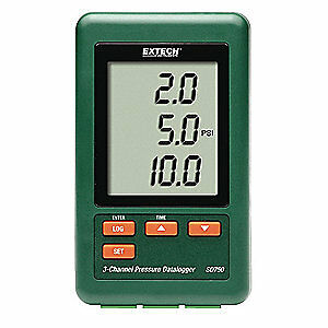 Extech Pressure Datalogger 3 Channel Sd750