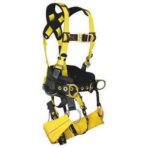 Falltech Tower Climb Full Body Harness 6d s G7042s Yellow