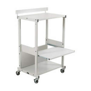 Dual Purpose Printer Stand Gray 25983