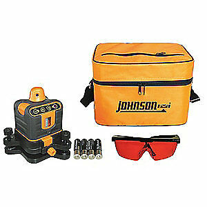Johnson Rotary Laser Level int ext red 800 Ft 40 6502